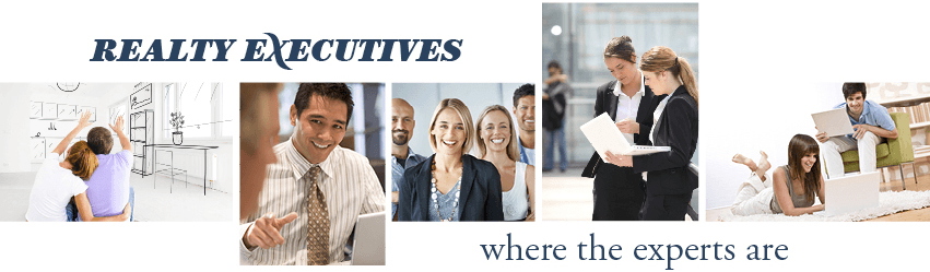 business professionals and happy consumers