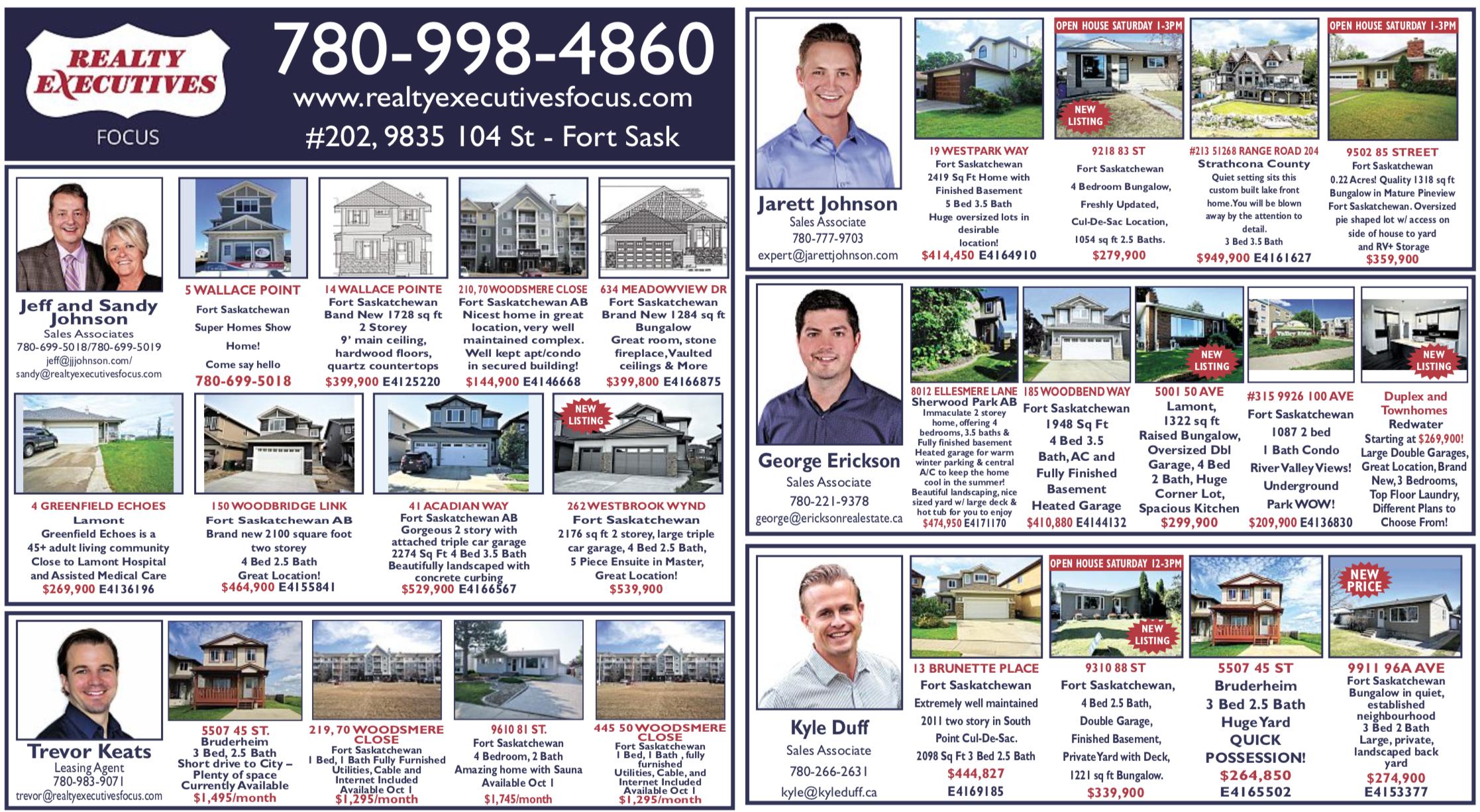 Fort Saskatchewan Newspaper Real Estate