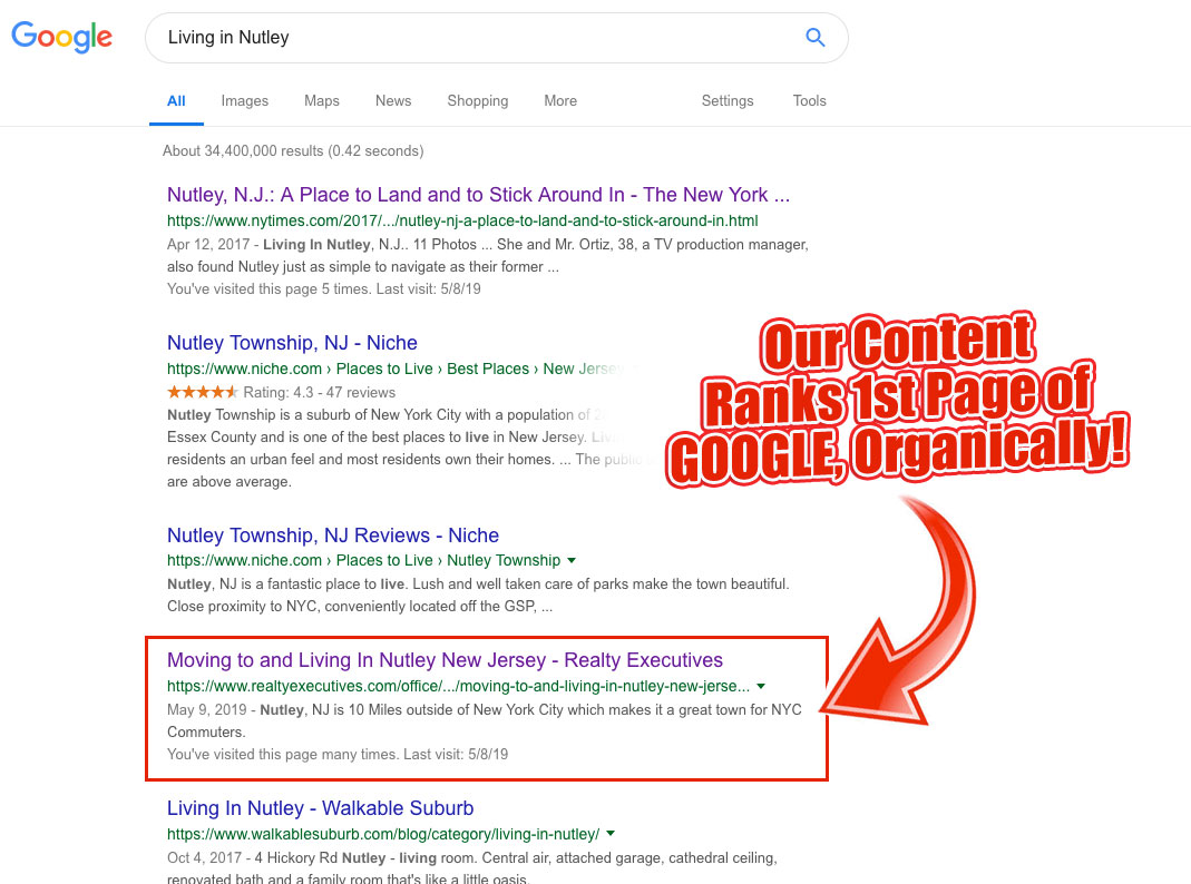 The Best Real Estate Marketing in Nutley