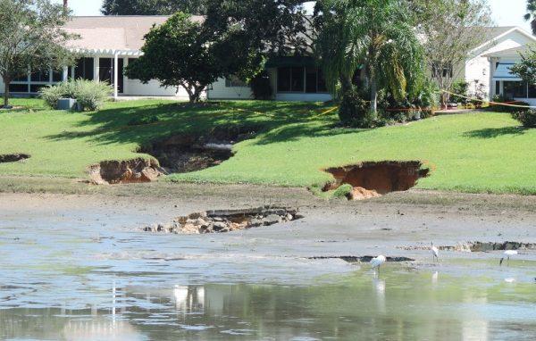 Sinkhole Damaged Home 1