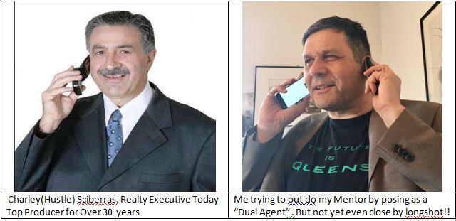 Charley 1 Phone versus Harvey 2 Phones